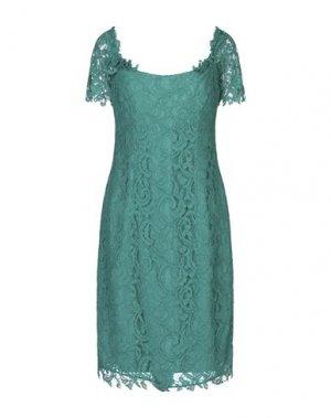 Платье до колена X'S MILANO. Цвет: изумрудно-зеленый