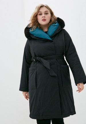 Куртка утепленная Mira Rico. Цвет: черный
