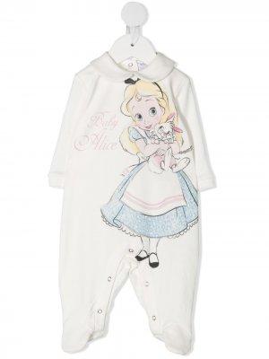 Пижама Baby Alice Monnalisa. Цвет: белый