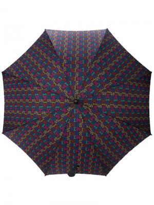 Зонт 1980-х годов Missoni Pre-Owned. Цвет: черный