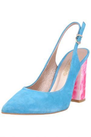 Босоножки EL Dantes. Цвет: blue