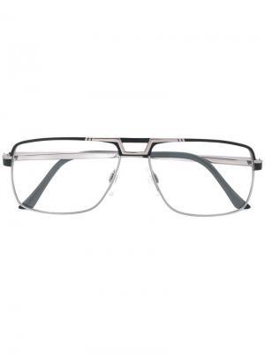 Square shaped glasses Cazal. Цвет: серый