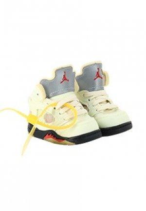 Кроссовки Air Jordan 5. Цвет: желтый