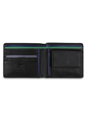 Бумажник Visconti. Цвет: черный, зеленый