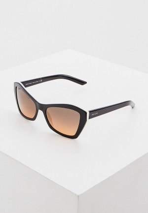 Очки солнцезащитные Prada 0PR 07XS 5460AO. Цвет: черный