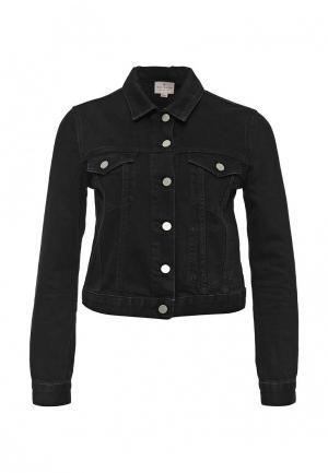 Куртка джинсовая French Connection. Цвет: черный