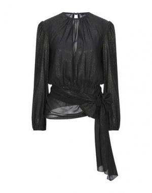 Блузка DENNY ROSE. Цвет: черный
