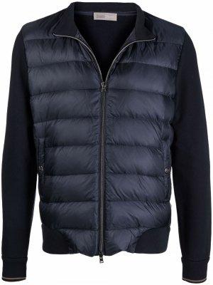 Куртка на молнии Herno. Цвет: синий