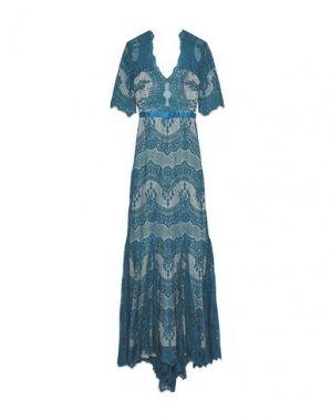 Длинное платье CATHERINE DEANE. Цвет: цвет морской волны