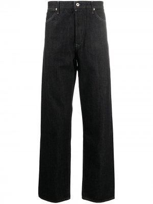 Широкие джинсы Jil Sander. Цвет: синий