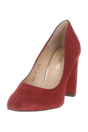 Туфли Goergo. Цвет: бордовый