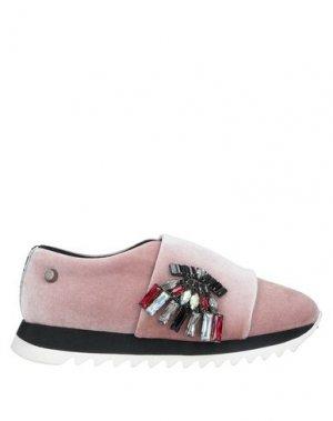 Низкие кеды и кроссовки JUDARI. Цвет: розовый