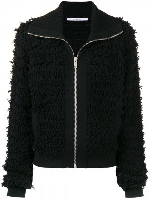 Textured jacket Givenchy. Цвет: черный