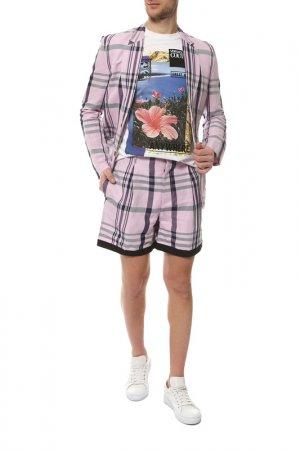 Блейзер Vivienne Westwood. Цвет: белый, лиловый, фиолетовый