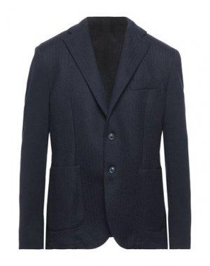 Пиджак L'8 BY LUBIAM. Цвет: темно-синий