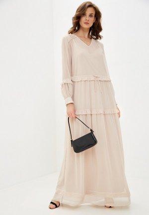 Платье Joop!. Цвет: бежевый