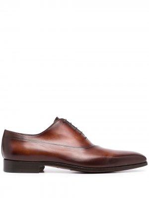 Оксфорды Bol с квадратным носком Magnanni. Цвет: коричневый