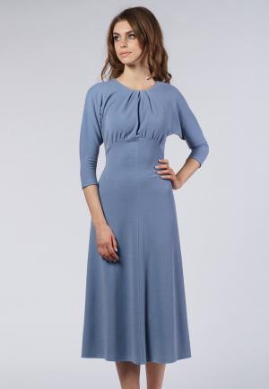Платье Evercode. Цвет: голубой