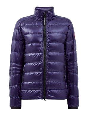Куртка из водонепроницаемого нейлона Rip-stop CANADA GOOSE. Цвет: синий