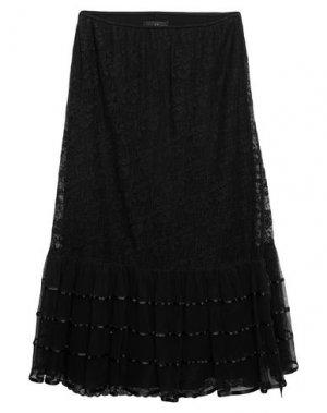 Длинная юбка 22 MAGGIO by MARIA GRAZIA SEVERI. Цвет: черный