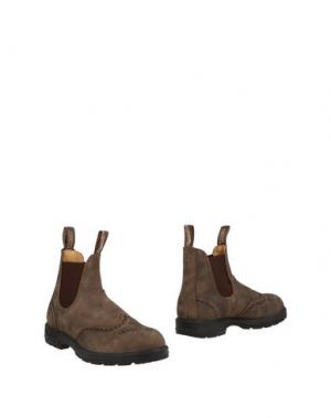 Полусапоги и высокие ботинки BLUNDSTONE. Цвет: хаки