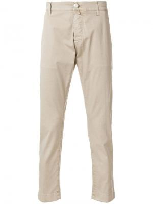 Классические брюки-чинос Jacob Cohen. Цвет: бежевый