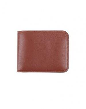 Бумажник ASPESI. Цвет: коричневый