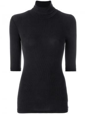 Roll neck sweatshirt Libertine-Libertine. Цвет: чёрный