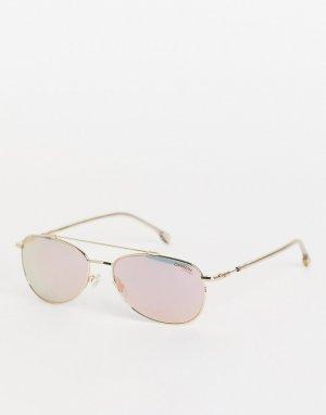 Солнцезащитные очки-авиаторы в стиле унисекс 224/S-Розовый цвет Carrera