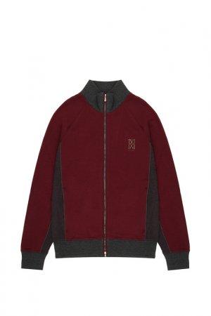 Куртка спортивная Bilancioni. Цвет: бордовый