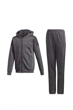 Костюм JB COTTON TS adidas. Цвет: серый