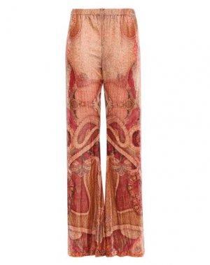 Повседневные брюки CAMILLA. Цвет: абрикосовый