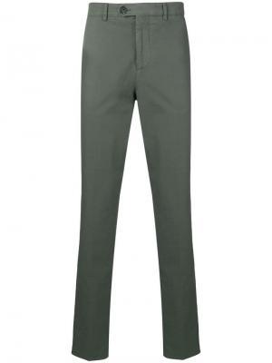 Прямые брюки с классической талией Brunello Cucinelli