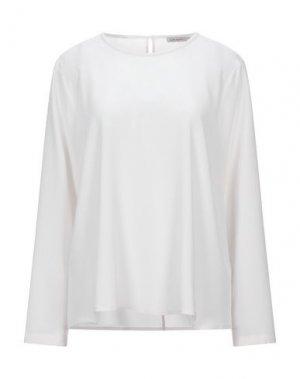 Блузка CAPPELLINI by PESERICO. Цвет: светло-серый
