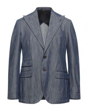Пиджак DOPPIAA. Цвет: синий