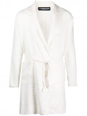 Жакет Nairobi с запахом Costumein. Цвет: белый