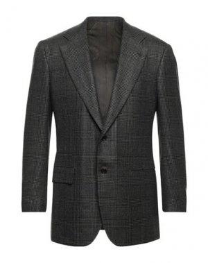 Пиджак KITON. Цвет: черный