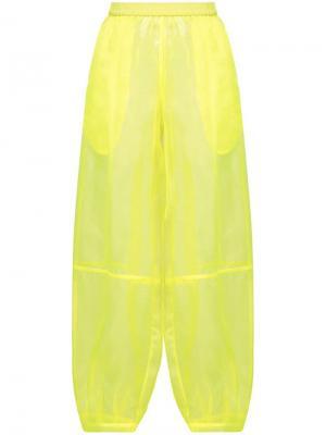 Прозрачные брюки-шаровары The Celect