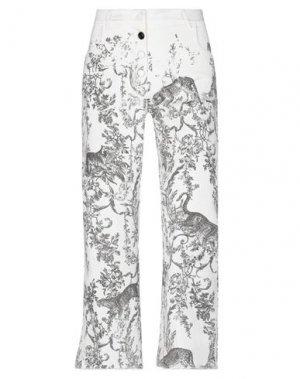 Джинсовые брюки 8PM. Цвет: белый