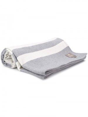 Двустороннее одеяло N.Peal. Цвет: серый