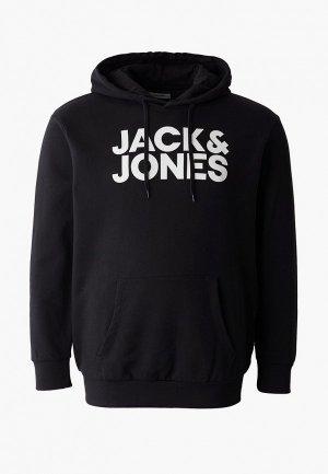 Худи Jack & Jones. Цвет: черный