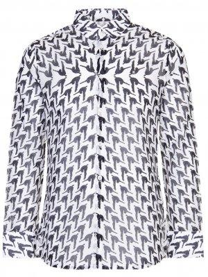 Рубашка Slim Fit с принтом DIRK BIKKEMBERGS