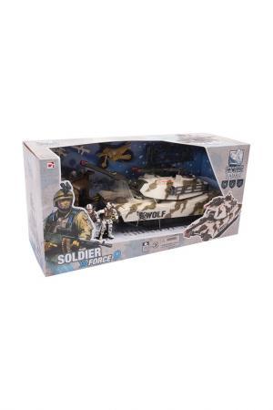 Тундровый патрульный танк Chap mei. Цвет: серо-синий