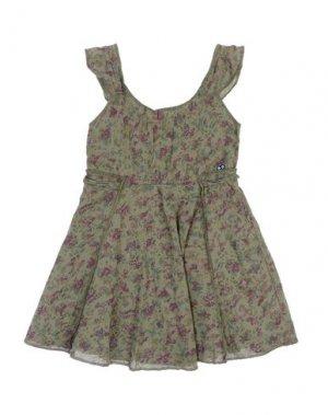 Платье AMERICAN OUTFITTERS. Цвет: зеленый-милитари