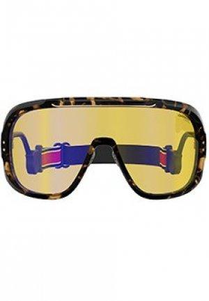 Солнцезащитные очки CARRERA. Цвет: желтый