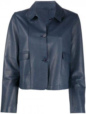 Куртка-рубашка на пуговицах S.W.O.R.D 6.6.44. Цвет: синий