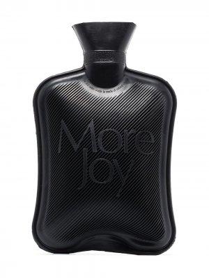Грелка с логотипом More Joy. Цвет: черный