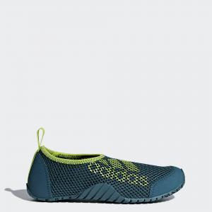 Коралловые тапочки Kurobe Performance adidas. Цвет: none
