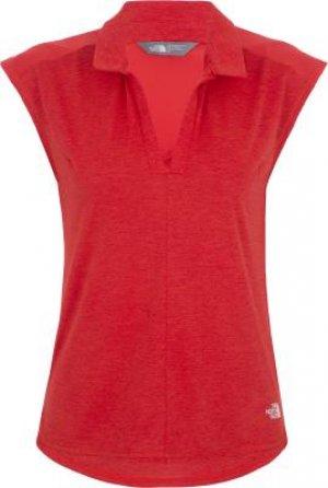 Футболка без рукавов женская Inlux, размер 40-42 The North Face. Цвет: красный