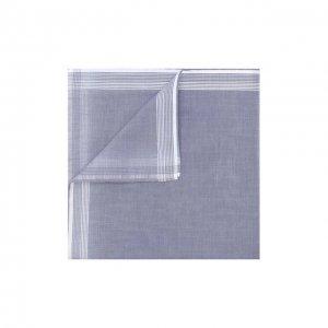 Хлопковый платок Simonnot-Godard. Цвет: синий